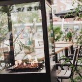 Verrijdbare tuinhaard | Sunwood