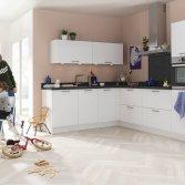 Superkeukens keuken Franchetti kristalwit