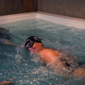 Wandmodel zwemmachine | Swimm