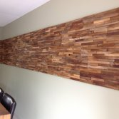 teak wall strips wallcladding
