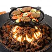 Terrashaard Cocoon Table met grillplaat-barbecue