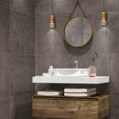 Terratinta tegels voor de badkamer