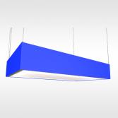 Rechthoekige recirculatie eilandkap | Teslion