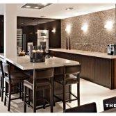 Hoogglans zwarte keuken | The Living Kitchen