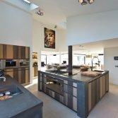 Tieleman-keuken (model Glasgow, 3 kleuren eiken)