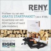Reny houtkachel met gratis startpakket