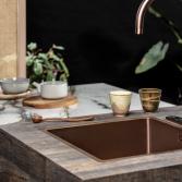 Keukenblad in houtkleur   TopLaminaat