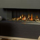 Trimline Inbouw Panorama gashaard van Home Fire