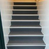 Troffelvloer op de trap | Unica