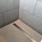 Unica troffelvloeren badkamer