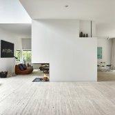 Universal extended 3-zijdig open houthaard roomdivider