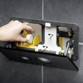 Viega wc-inworpschacht voor reinigingstabs