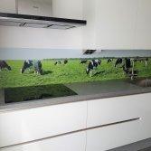 Visualls keukenachterwand met print