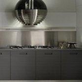 RVS-look keukenachterwand | Visuals