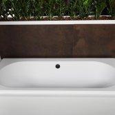 Vrijstaande baden acryl - mat wit