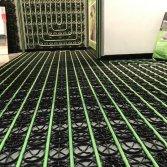 Vloerverwarming en -koeling in één