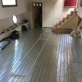 Woonboot met vloerverwarming | WARP systems