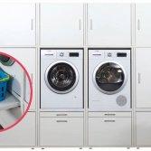 Wasruimte bijkeuken | Wastoren