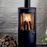 Westfire Houtkachel Uniq 26 met minimalistisch ontwerp