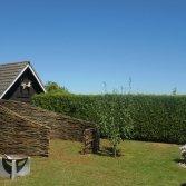Natuurlijke terrasscherm | Wilhout