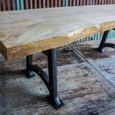 Buitentafel Elmwood boomstam | Woodindustries