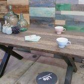 Woodindustries industriële tafel
