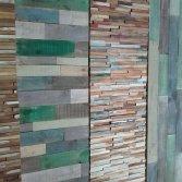 Woodindustries sloophouten wandbekleding