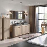 Klassiek eiken badkamermeubel | X2O