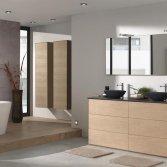 Modern eiken badkamercollectie | X2O
