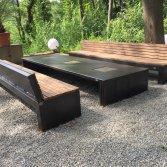 Zeno Garden Bench