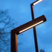 Cor-ten A stalen lantaarpaal | Zeno