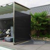 Oprolbaar wind terrasscherm | Zonz