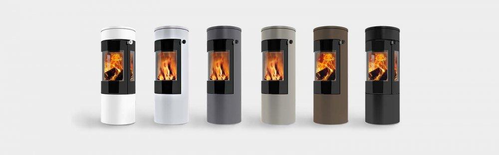 attika houtkachel viva l 120 witte uitvoering product in. Black Bedroom Furniture Sets. Home Design Ideas