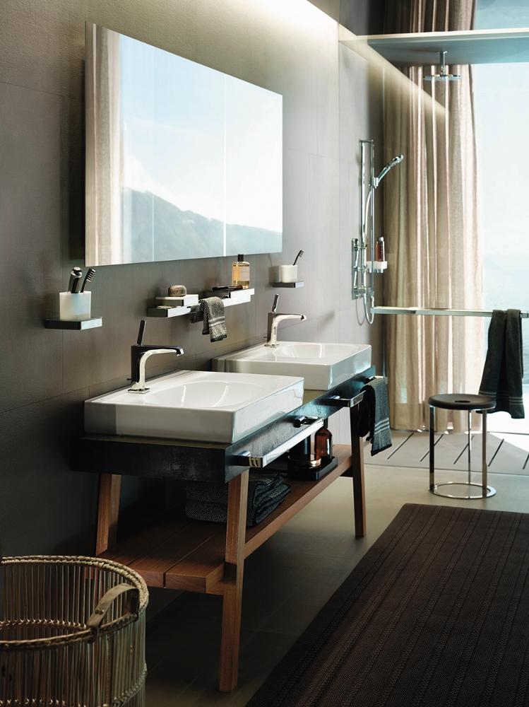 axor citterio e wastafelkranen product in beeld. Black Bedroom Furniture Sets. Home Design Ideas