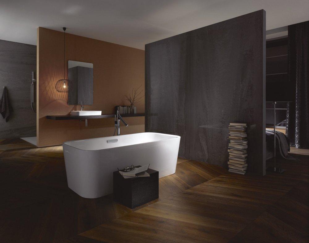 BetteArt ligbad met bijpassende wastafel