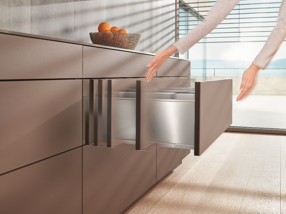 Blum Tip-On Blumotion voor greeploze keukenkasten