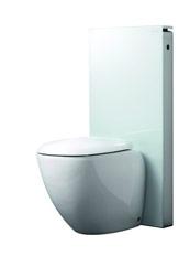 Geberit Monolith toilet wit glas