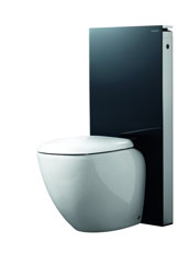 Geberit Monolith toilet zwart glas