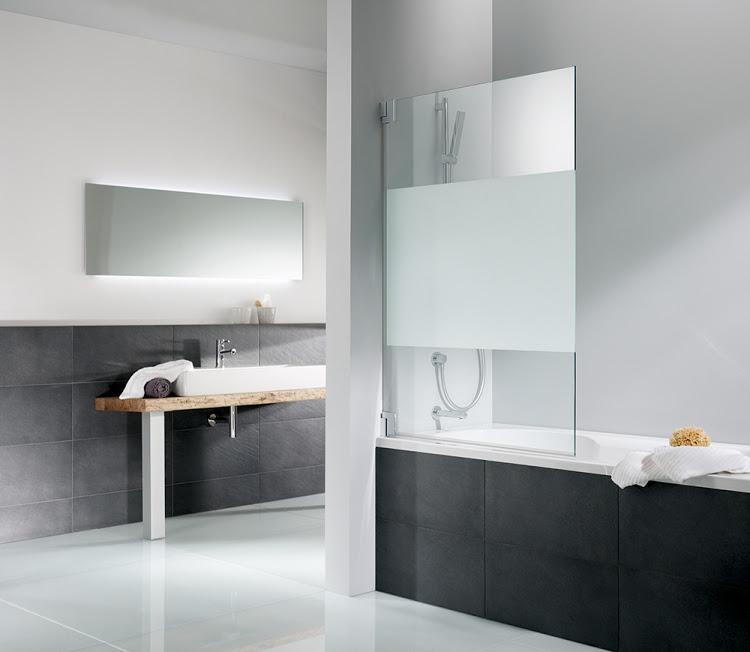 HSK 1-delige badwand