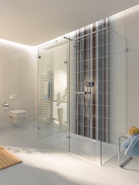 Stuc Plafond Badkamer ~ Brochure over KermiExtra douchescherm aanvragen