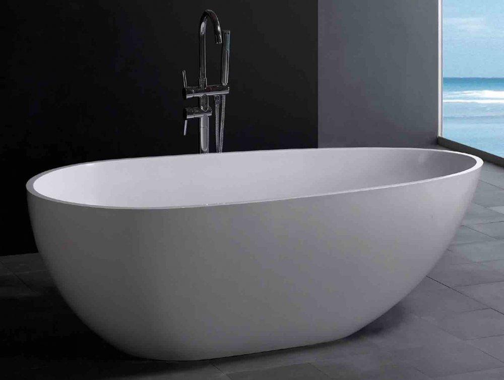 Luva 1850 vrijstaand bad product in beeld startpagina voor badkamer idee n uw - Moderne badkraan ...