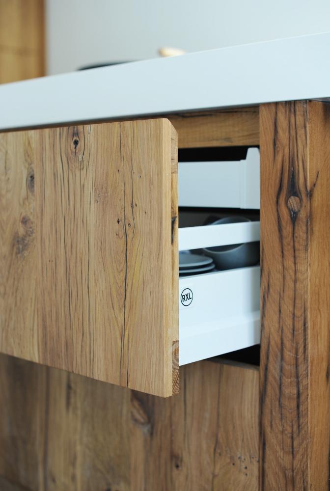 Houten Keuken Recht : RestyleXL houten keuken van wagondelen Product in beeld