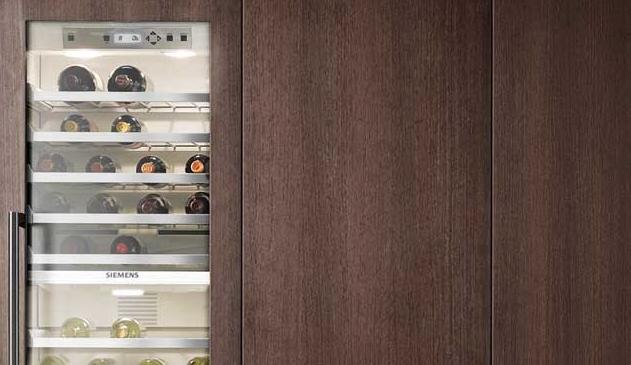 Siemens integreerbare wijnklimaatkast CI24WP01