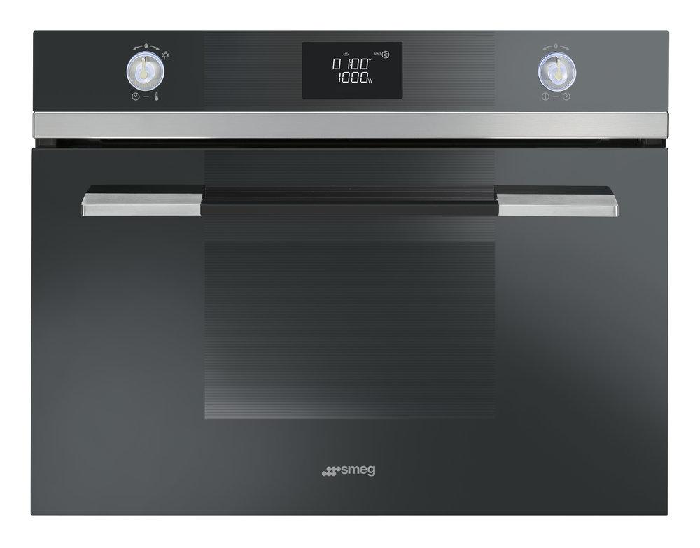 Smeg oven met magnetronfunctie 45cm - Linea lijn