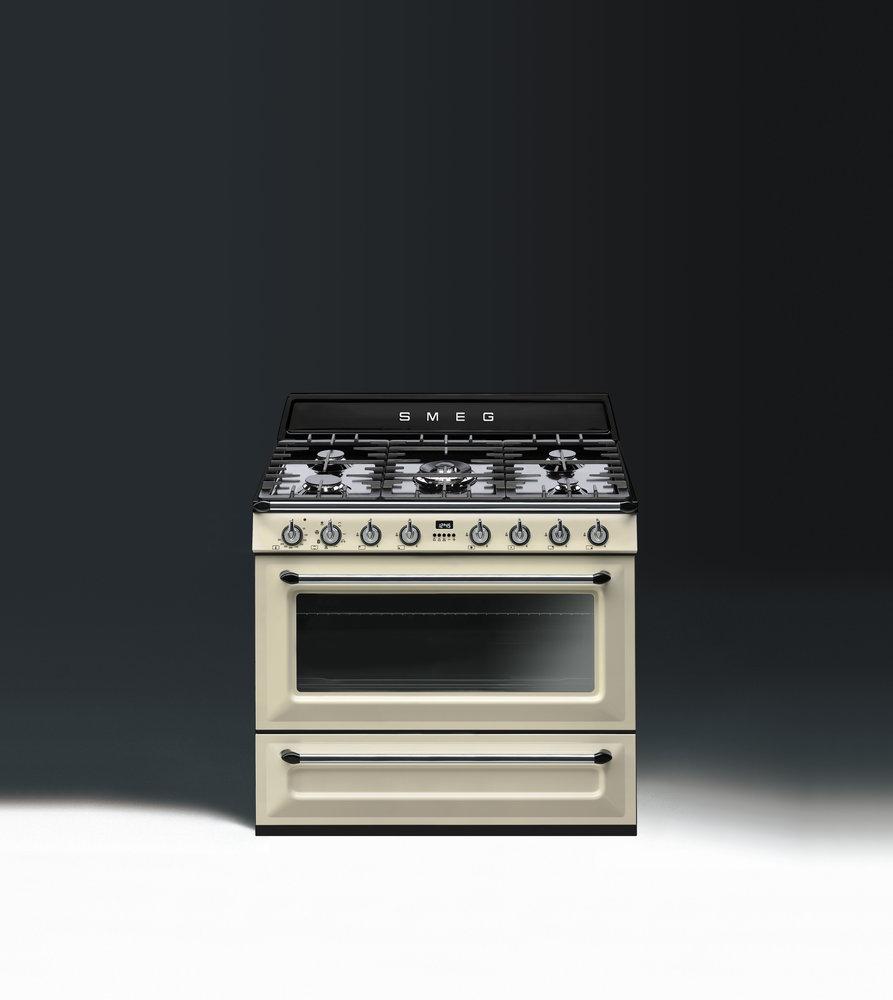 Smeg Küchen smeg tradizionale fornuis tr90 product in beeld startpagina voor keuken ideeën uw keuken nl