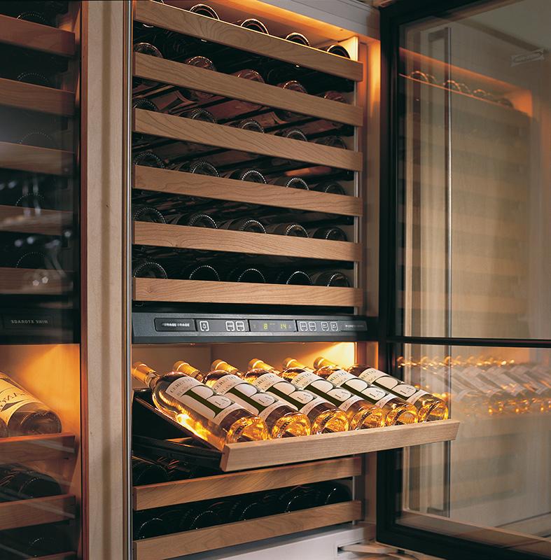Sub-zero wijnbewaarkast ICB427RG met koellades