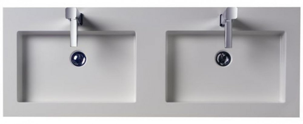 Thebalux Badkamermeubelen Nera detail wastafel mineraalmarmer 120  Product i # Wasbak Lavanto_202148