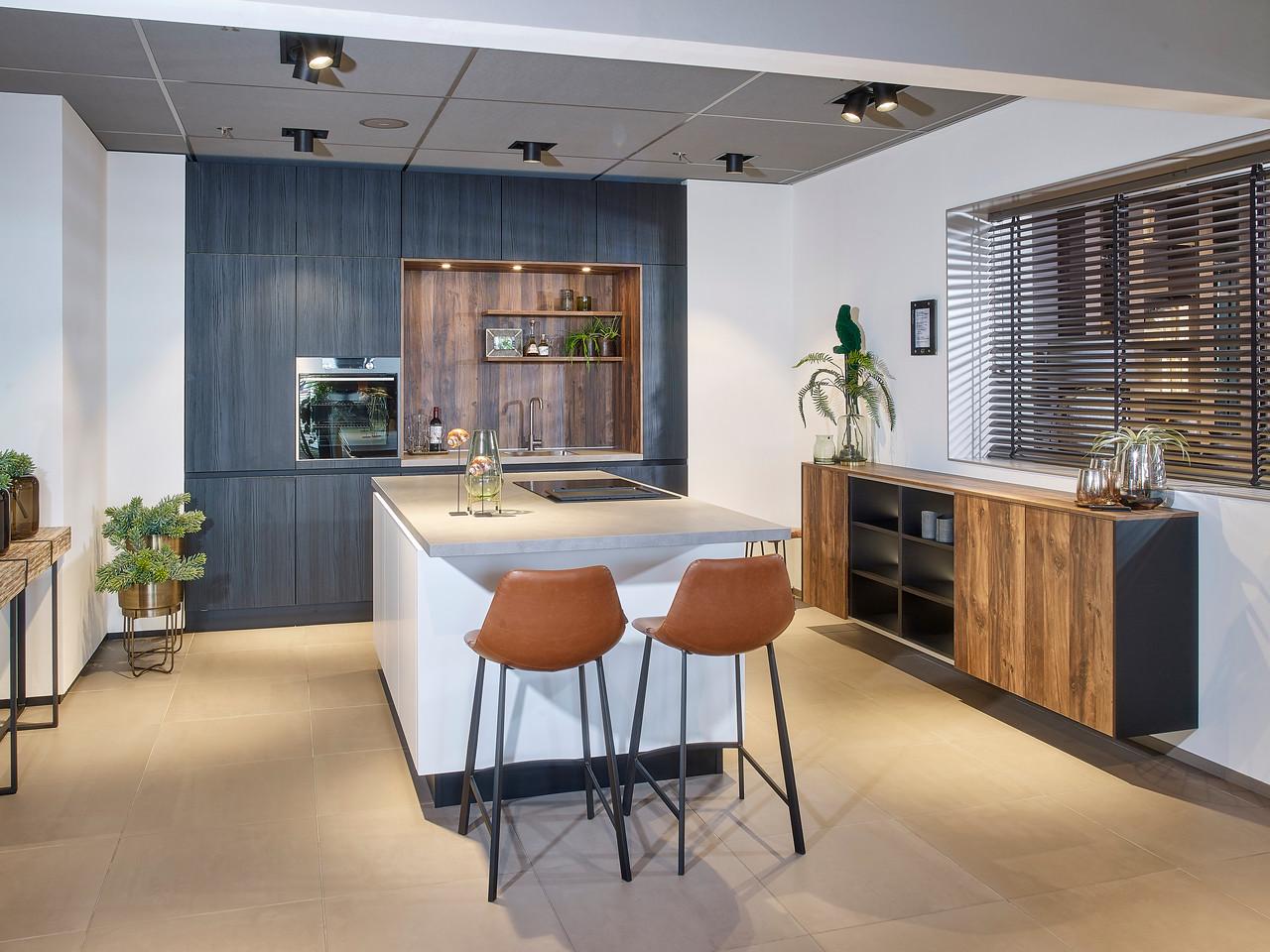 Keuken met dressoir | Tieleman Keukens