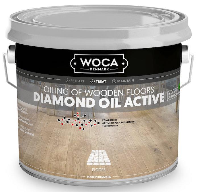 WOCA beschermende olie houten vloer