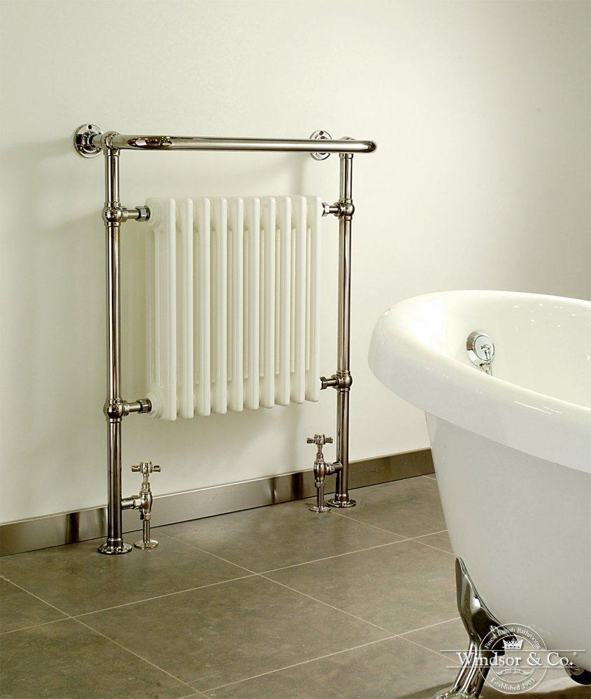Windsor handdoek radiator regency product in beeld startpagina voor badkamer idee n uw - Badkamermeubels oude stijl ...